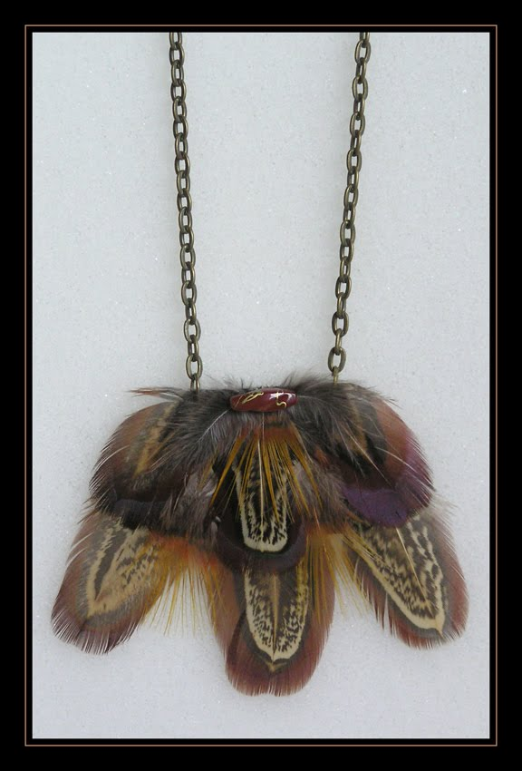Pheasant Small Necklace II