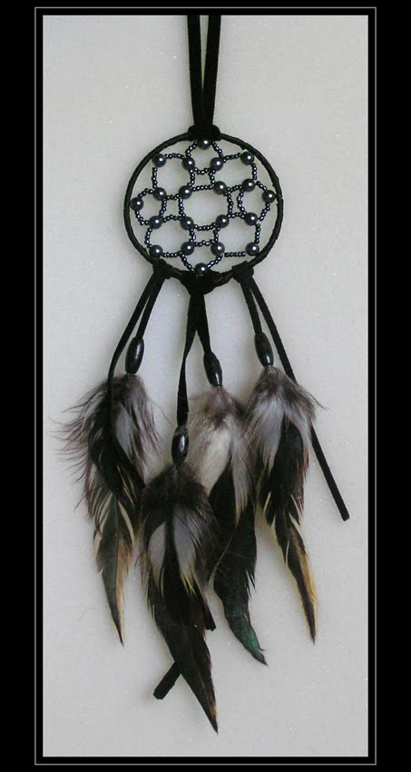 Dream Catcher Inspired Necklace