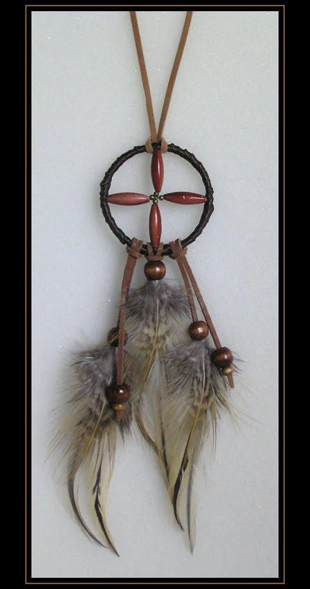 Chestnut Medicine Wheel Pendant