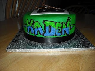 Sprinklebelle: DC Skateboarding Cake 2