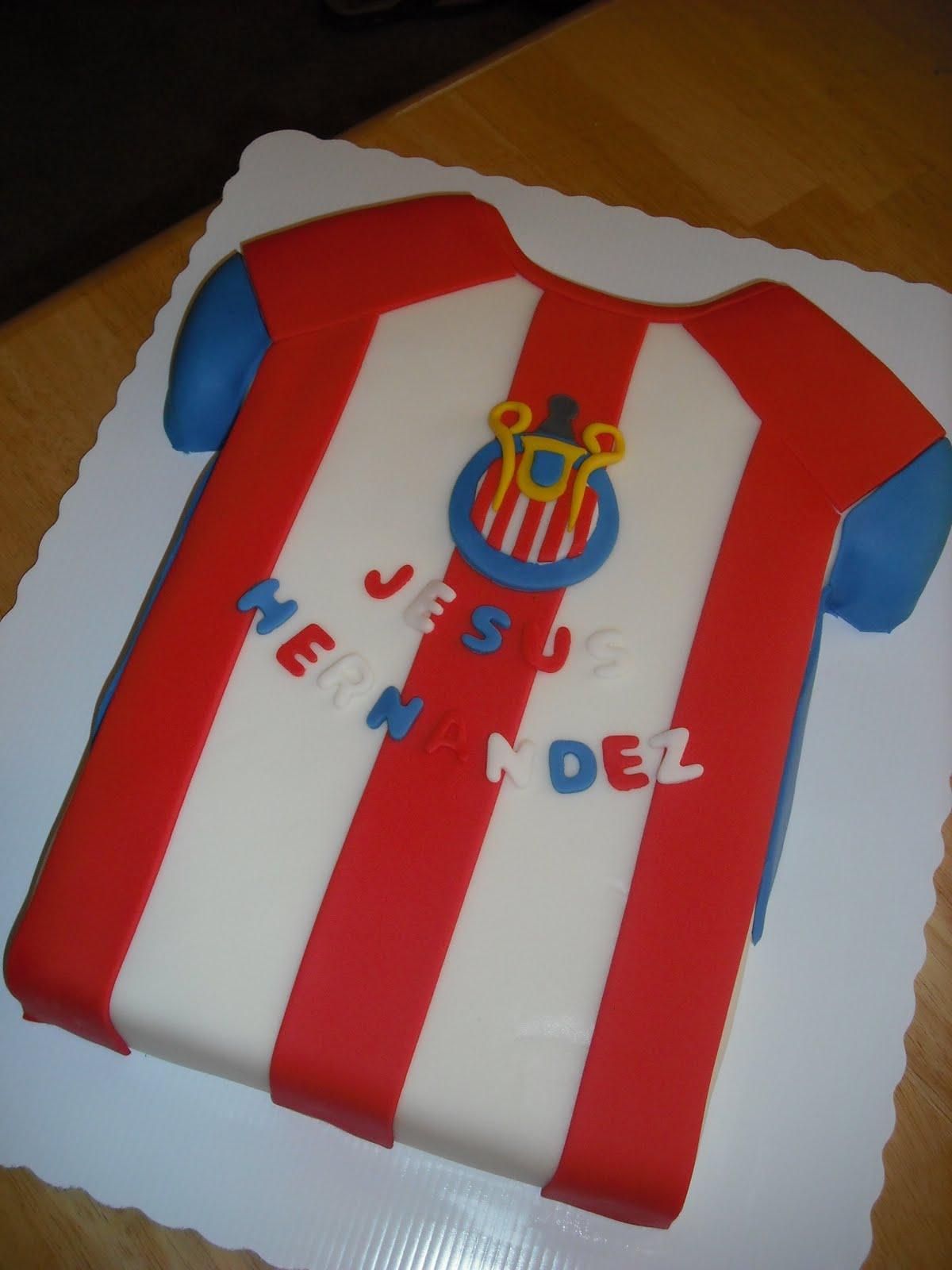 Sprinklebelle: Chivas Jersey Cake