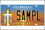 Another Christian Plate Rejected