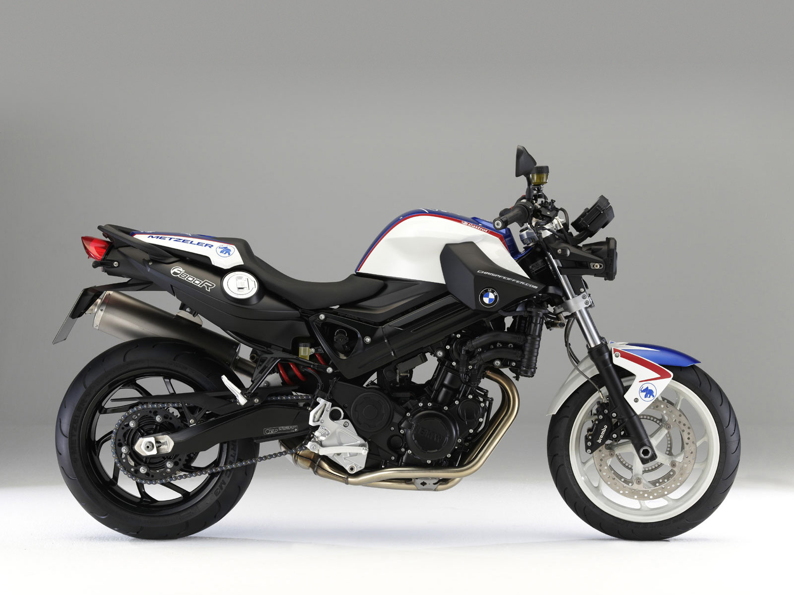 2010 NEW BMW F800R Chris Pfeiffer