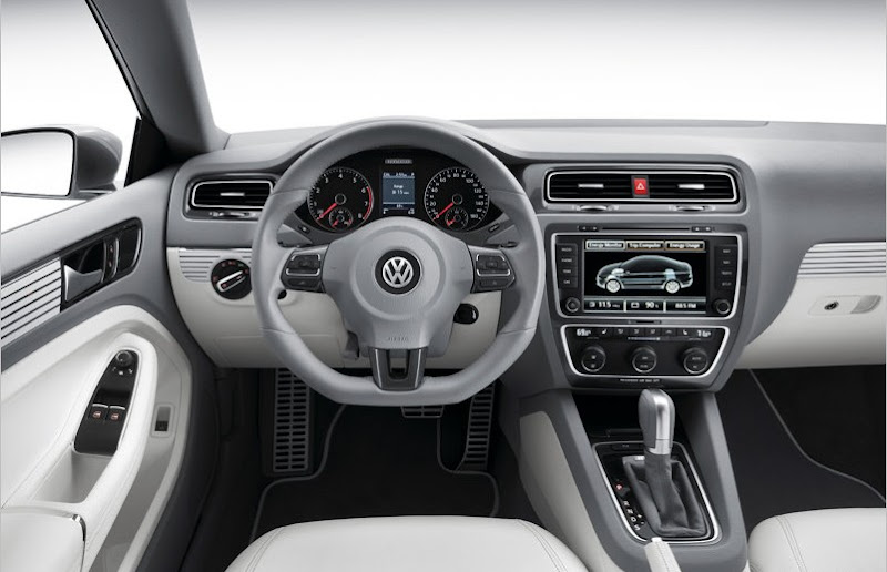 2010 Volkswagen New Compact Coupe Concept interior