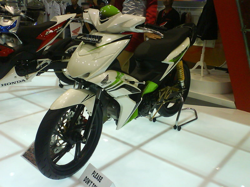 Image of Honda Blade Modifikasi