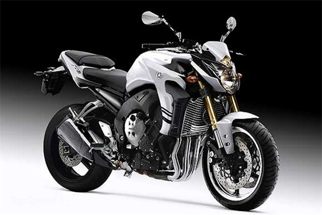 NEW YAMAHA FZ8( 2010 )