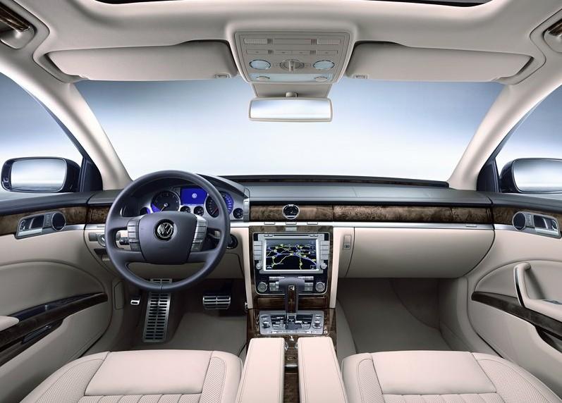 ( 2011 ) New Volkswagen Phaeton interior