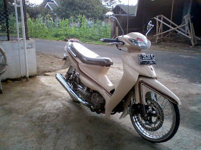 Photo Modifikasi Suzuki Smash
