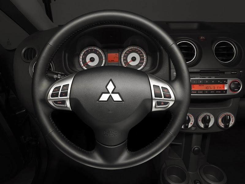 2009 Mitsubishi Colt dashboard