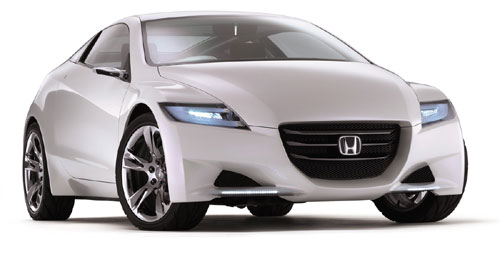 2011 Honda CR-Z Hybrid front