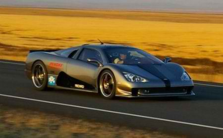 2011 Shelby SSC Ultimate Aero