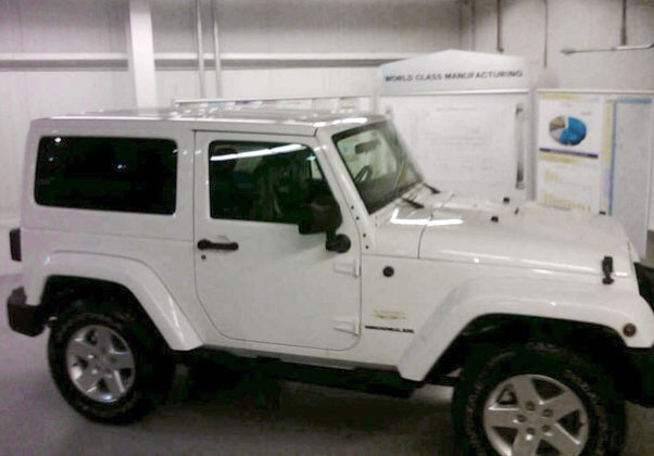2011 Jeep Wrangler Spy Photo
