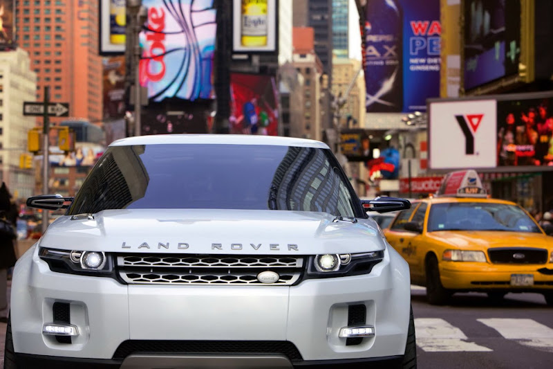 2012 Land Range Rover Evoque Revealed