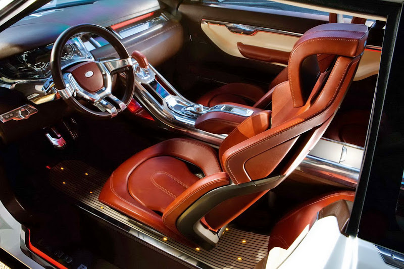 2012 land range rover evoque revealed new car used car reviews picture - Range rover evoque interior ...
