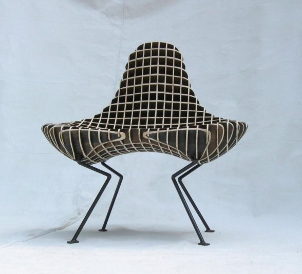 Wood Chair Modern  Design by Ryan Dart