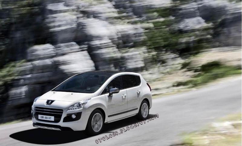 2011 New Peugeot 3008 HYbrid4
