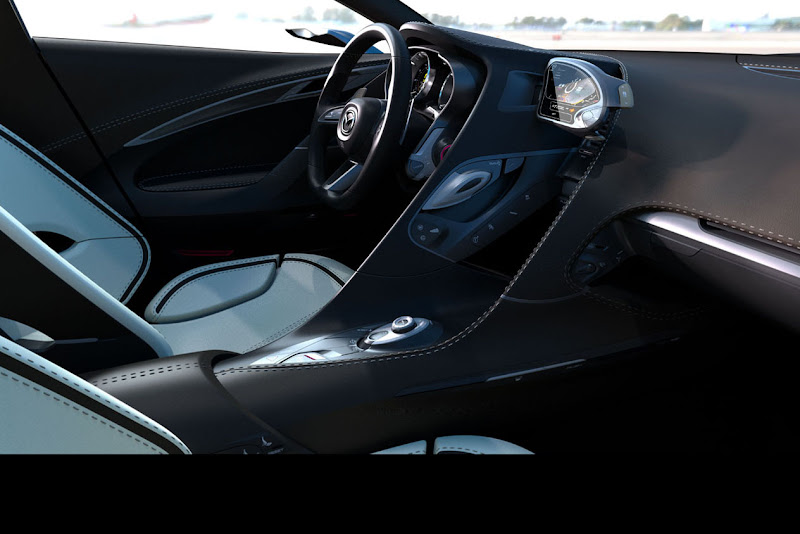 Mazda Shinari Concept Revealed Interior