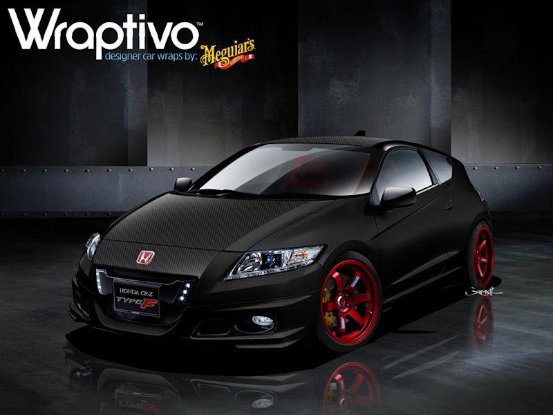 2011 Honda CR-Z Type F Wraptivo