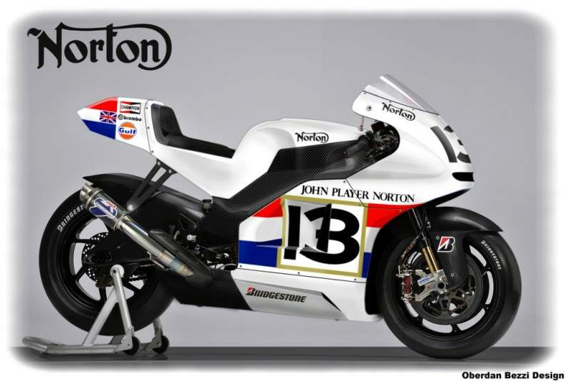 Norton GP Concept Design by Oberdan Bezzi