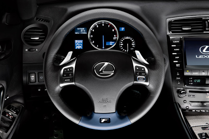 2011 Lexus IS F Euro 5