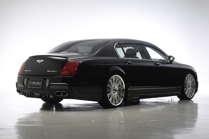 Bentley Continental Flying Spur Black Bison. WALD International, the Japanese aftermarket expert has released its latest styling conversion,