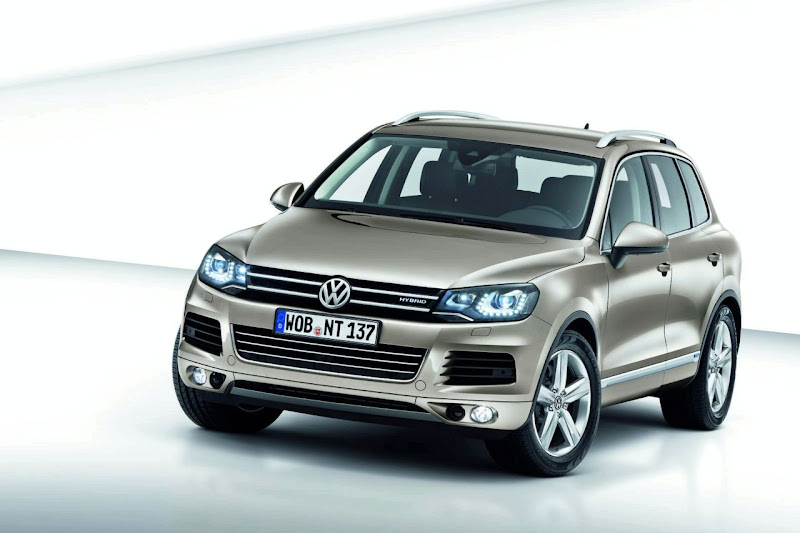 2011 Volkswagen Touareg Details