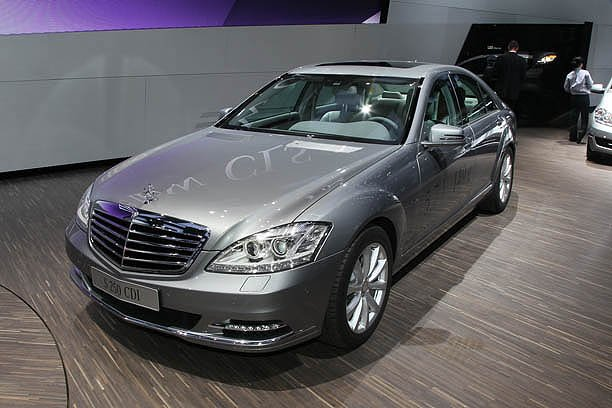 paris motor show news 2011 mercedes s250 cdi