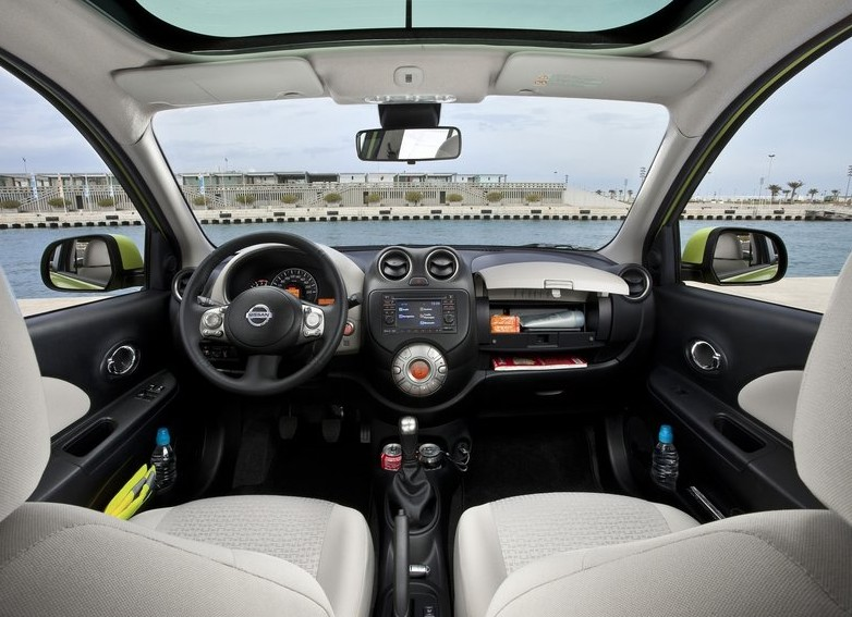 2011 Nissan Micra Interior