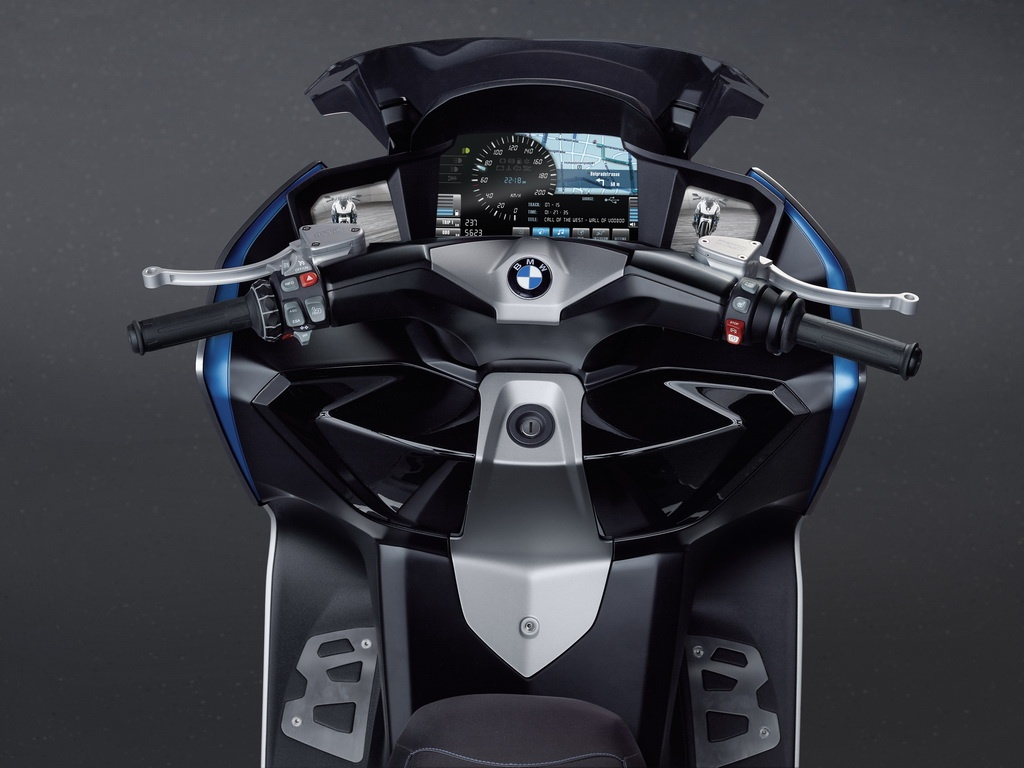 Skuter BMW Concept C Scooter BMW+Scooter+C+Concept+Panel