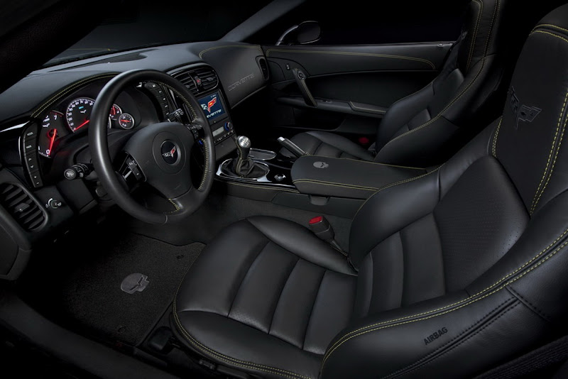 2011 Chevrolet Corvette Jake Concept Interior