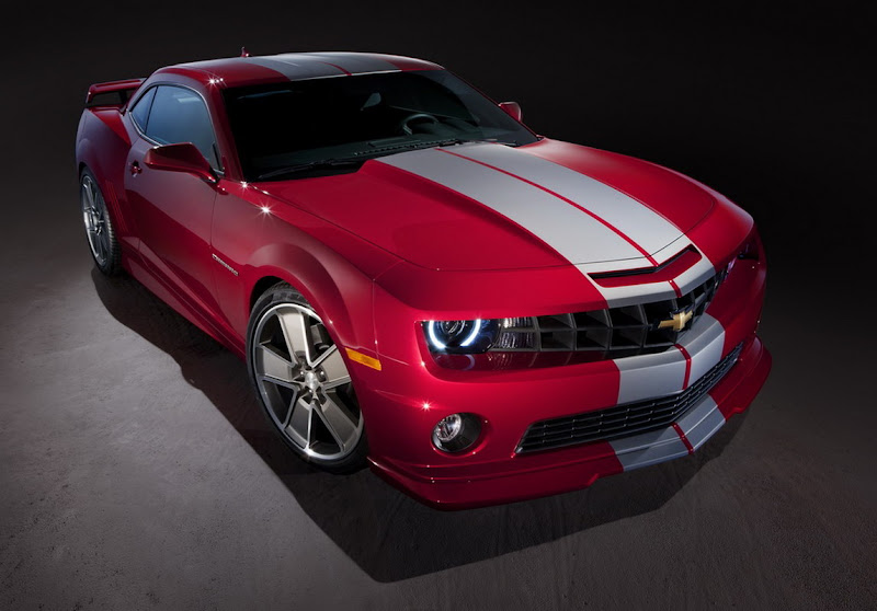 2011 Chevrolet Camaro Red Flash