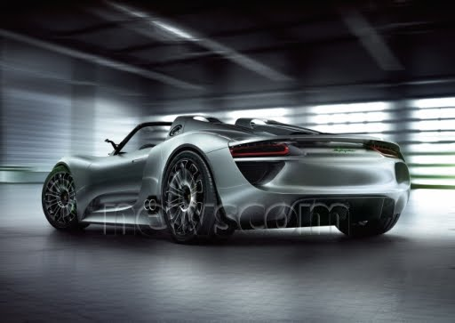Porsche 918 Spyder Concept  High-Performance