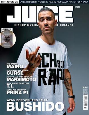 Bushido - Juice Cover: Ausgabe 10/2008
