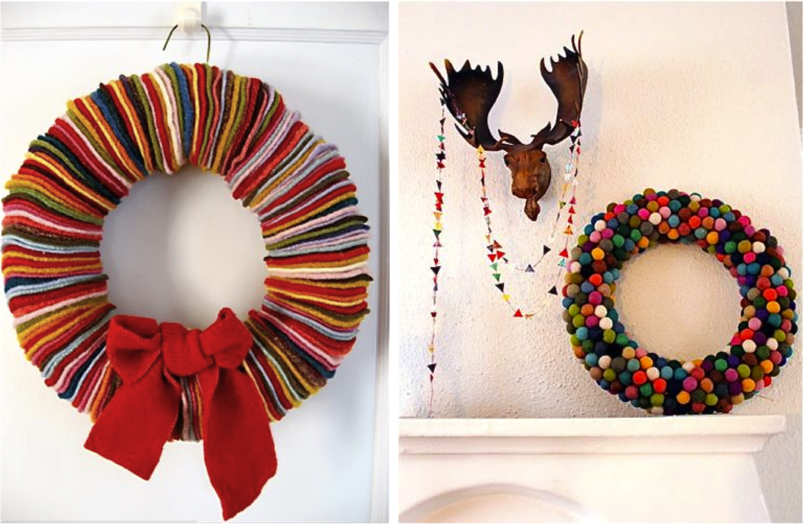Last minute handmade gifts roundup made everyday for Handmade home decorations ideas