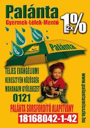 Támogassa 2X1%-ával a Palánta Missziót! Támogatását a magyarországi gyerekek nevében is köszönjük:)