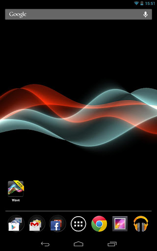waves free live wallpaper