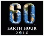 iamclauvenrn supports earth hour! just for an hour!