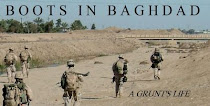 Boots in Baghdad
