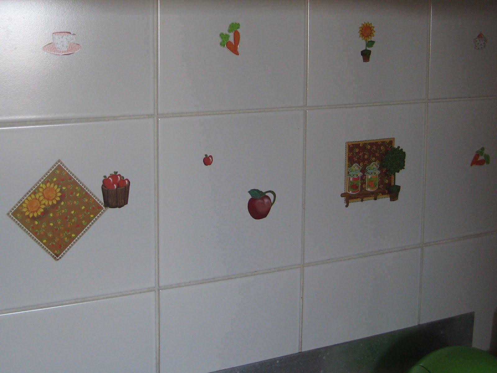 decorar sustentável Decorando azulejos # Azulejo Cozinha Com Papel Contact