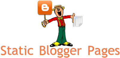 Add Static Pages in Blogger
