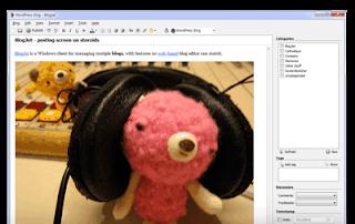 BlogJet Blogger Desktop application