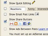 New Sharing Buttons in Blogger