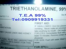 TRIETHANOLAMINE, TEA 99%