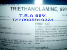 TRIETHANOLAMINE, TEA 99%