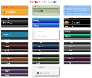 Add Vertical Multi Level CSS Menus in Blogger