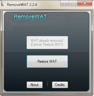 WAT Remover