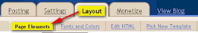 Layout - Page Elements