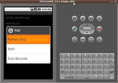 Select Python 2.6.2