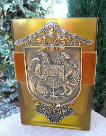 Gold Brass Armenian Shield
