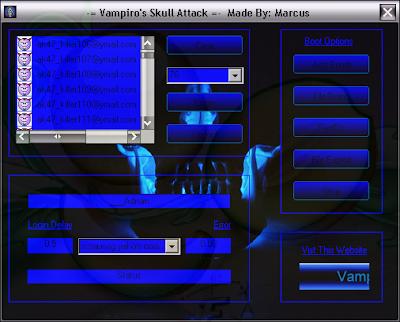 Vampiro's Skull Attack